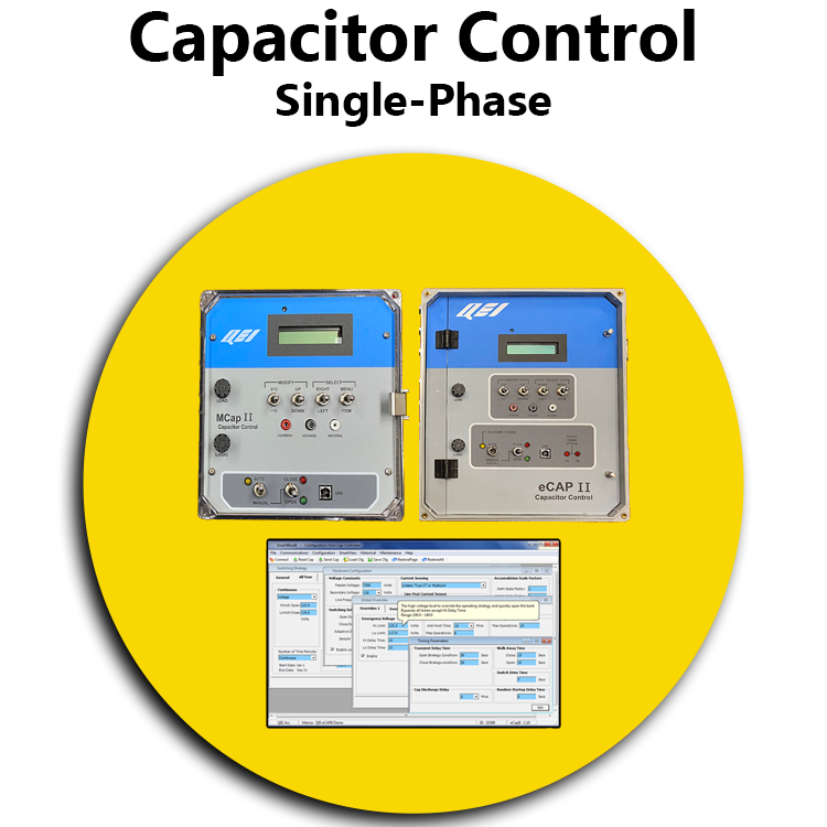 Single Phase Cap Control YELLOW
