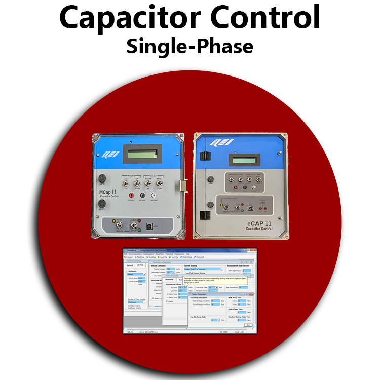 Single Phase Capacitor Control RED