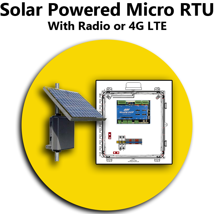 Solar Powered Micro RTU