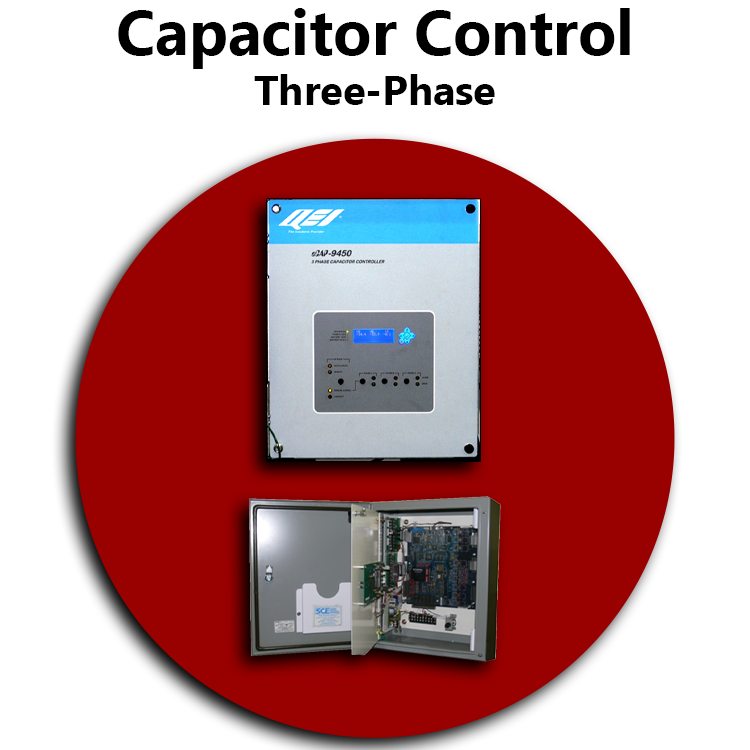 Three Phase Capacitor Control RED